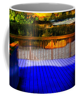 Coffee Mug featuring the photograph Step Out by Gunter Nezhoda