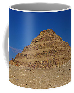 Step Pyramid Of King Djoser At Saqqara  Coffee Mug