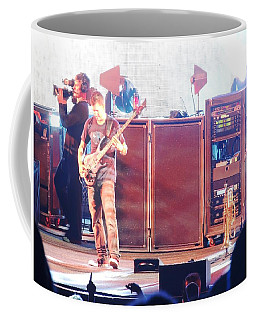 Coffee Mug featuring the photograph Stephan The Bass Player by Aaron Martens