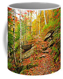 Coffee Mug featuring the photograph Stepping Stones by Bill Howard