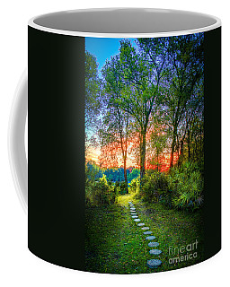 Stepping Stones To The Light Coffee Mug by Marvin Spates