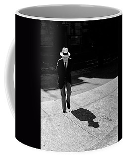 Coffee Mug featuring the photograph Steps Of Metropolitan Museum by Dave Beckerman