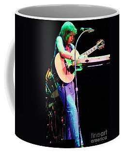 Steve Howe Of Yes 1980 Drama Tour Coffee Mug