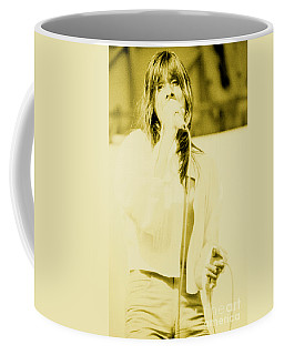 Steve Perry Of Journey At Day On The Green - July 27th 1980 Coffee Mug