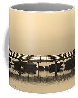 Still Lake Coffee Mug by Clare Bevan