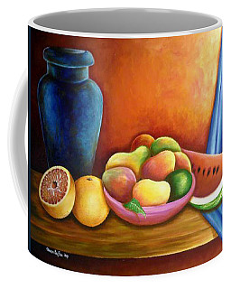 Still Life Of Fruits Coffee Mug