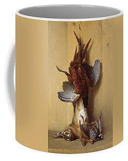 Still Life With A Hare, A Pheasant And A Red Partridge Coffee Mug