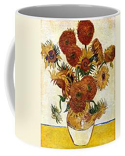 Still Life With Sunflowers Coffee Mug