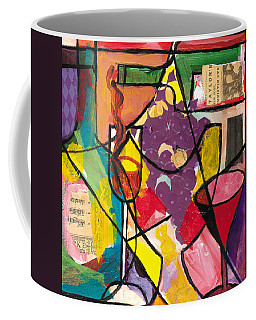 Still Life With Wine And Fruit B Coffee Mug