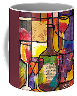 Still Life With Wine And Fruit Coffee Mug