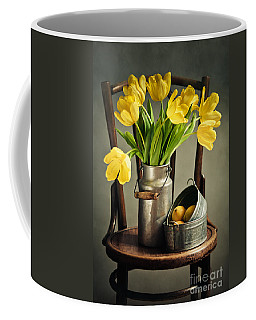 Still Life With Yellow Tulips Coffee Mug