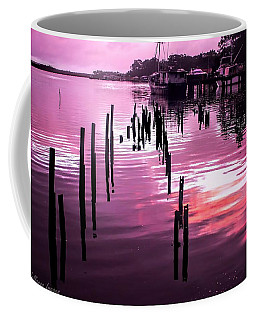 Coffee Mug featuring the photograph Still Water Dusk 2 by Wallaroo Images