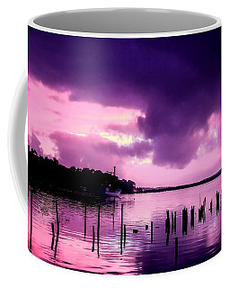 Coffee Mug featuring the photograph Still Water Dusk by Wallaroo Images