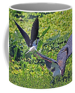 Stilt Attacks Tri-color  Coffee Mug