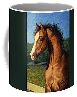 Coffee Mug featuring the painting Stir Crazy by James W Johnson