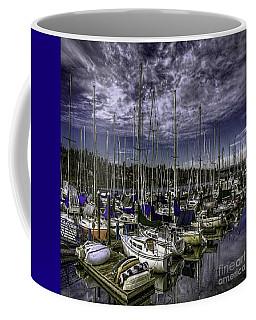 Coffee Mug featuring the photograph Stirring The Sky by Jean OKeeffe Macro Abundance Art