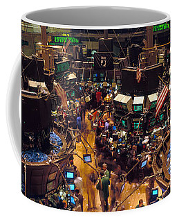 Stock Exchange, Nyc, New York City, New Coffee Mug