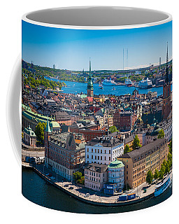 Stockholm From Above Coffee Mug