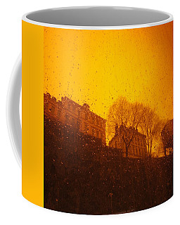 Stockholm The Heights Of South In Silhouette Coffee Mug
