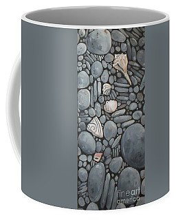 Stone Beach Keepsake Rocky Beach Shells And Stones Coffee Mug