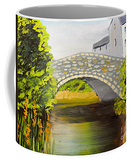 Stone Bridge At Burrowford Uk Coffee Mug