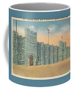 Stone Castle Bristol Tn Built By Wpa Coffee Mug