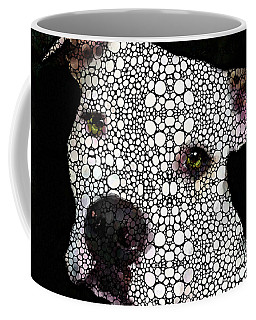Stone Rock'd Dog By Sharon Cummings Coffee Mug
