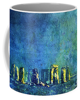 Stonehenge In Moonlight Coffee Mug by Ryan Fox