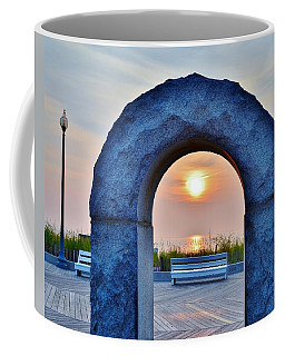 Sunrise Through The Arch - Rehoboth Beach Delaware Coffee Mug