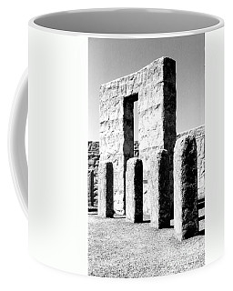 Coffee Mug featuring the photograph Stonehenge Replica by Chalet Roome-Rigdon