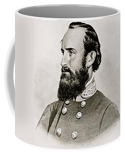 Stonewall Jackson Confederate General Portrait Coffee Mug