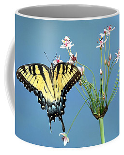 Stop And Smell The Flowers Coffee Mug by Elizabeth Winter