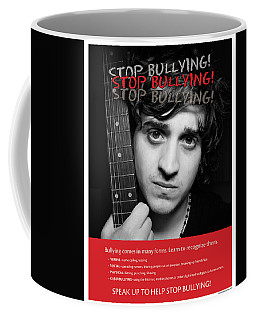 Coffee Mug featuring the photograph Stop Bullying by Betty Denise