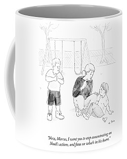 Stop Concentrating On Noah S Actions And Focus Coffee Mug