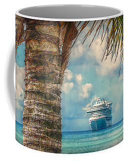 Coffee Mug featuring the photograph Stopover In Paradise by Hanny Heim