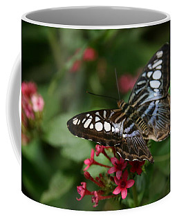 Coffee Mug featuring the photograph Stopping By by Denyse Duhaime