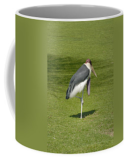 Coffee Mug featuring the photograph Stork by Charles Beeler