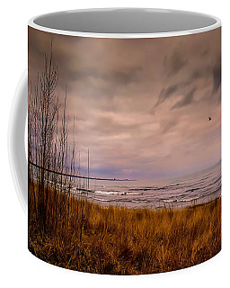 Storm Approaching At Dusk Coffee Mug