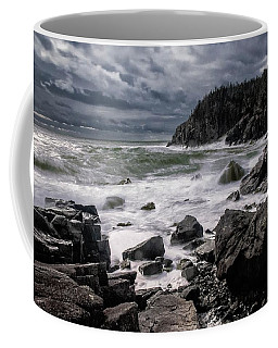 Storm At Gulliver's Hole Coffee Mug by Marty Saccone