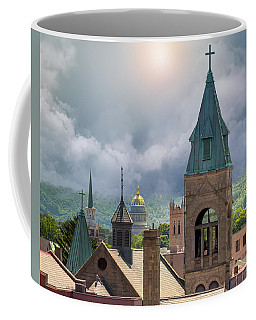 Storm Clouds In Charleston Wv Coffee Mug by Mary Almond