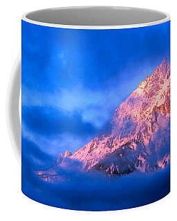 Storm Clouds Over Mountains, Cathedral Coffee Mug