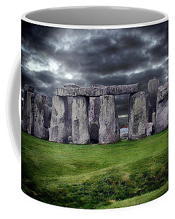 Storm Clouds Over Stonehenge Coffee Mug