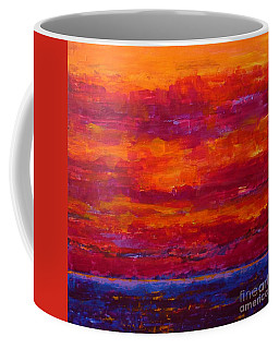 Storm Clouds Sunset Coffee Mug