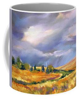 Storm Colors Coffee Mug by Rae Andrews