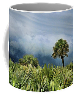 Coffee Mug featuring the photograph Storm Coming by Kenny Francis