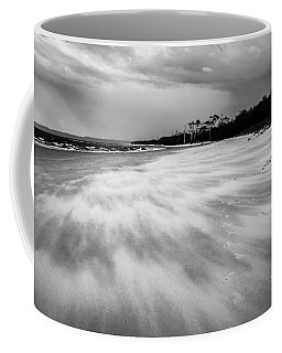 Storm Front On The Beach Coffee Mug