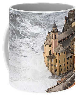 Storm In Camogli Coffee Mug by Antonio Scarpi
