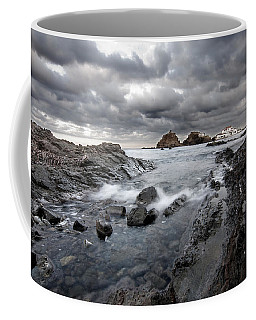 Storm Is Coming To Island Of Menorca From North Coast And Mediterranean Seems Ready To Show Power Coffee Mug by Pedro Cardona