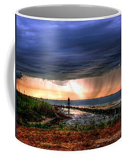 Storm On The Bay Coffee Mug