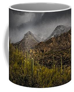 Storm Over Catalinas Aso Coffee Mug